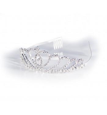 Peineta tiara