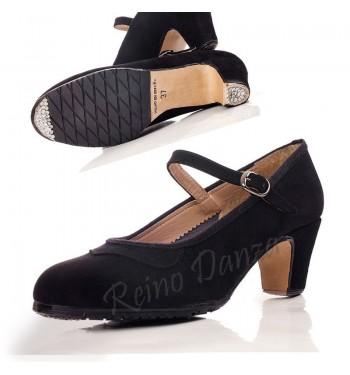 Zapato flamenco profesional ante