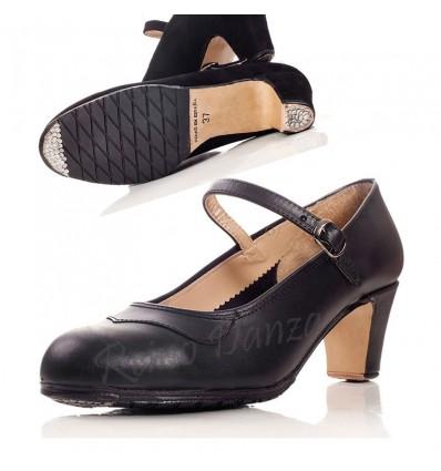 Zapato flamenco profesional piel
