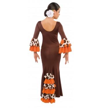 EF072 - Falda flamenco