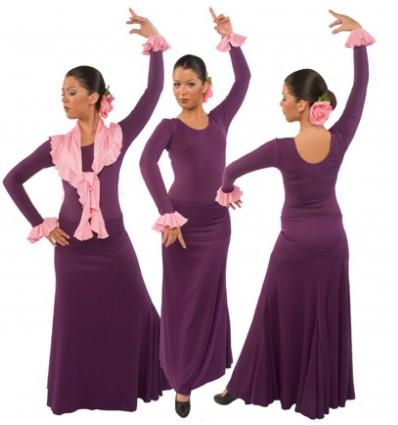 EF108 - Falda flamenco