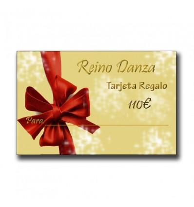 Tarjeta Regalo articulos de danza por 110€