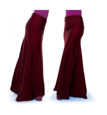 Falda  flamenco Lycra tres...