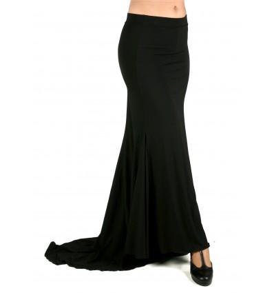 Falda flamenca con colin trasero