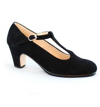 Zapato profesional Candela piel tira centra