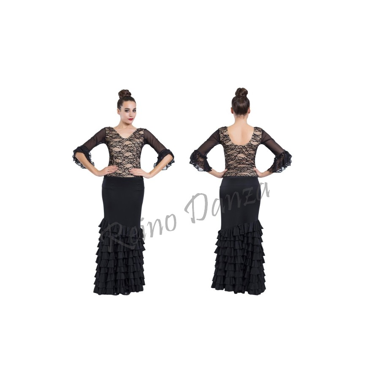 feecd912c3 Falda flamenca 11 volantes - Reino Danza