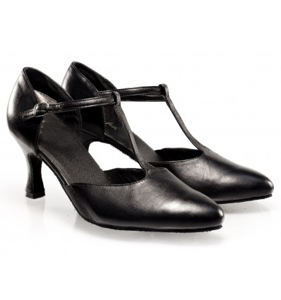 Zapato salon piel cerrado