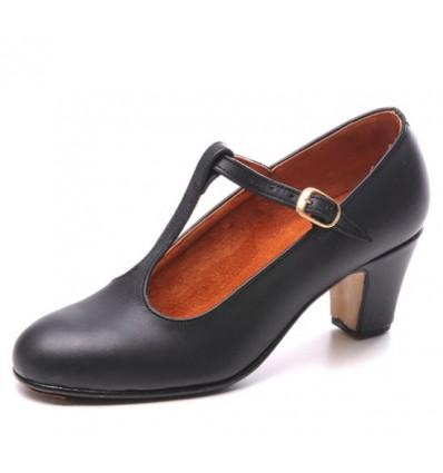 Zapato flamenco piel semi Candela